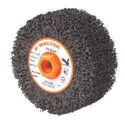 WALTER SURFACE TECHNOLOGIES 07K442, DRUM-SANDING 4-1/2 X 4 - 5/8-11 ARBOR 80G TWO-IN-ONE 07K442