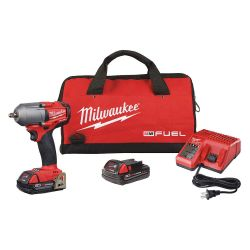"MILWAUKEE 2852-22CT, IMPACT WRENCH -3/8"" MID-TORQUE - W/FRICTION RING M18 2852-22CT"