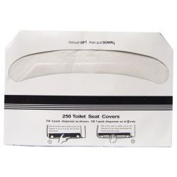 ADVANTAGE 1150-250, TOILET SEAT COVER - SINGLE PACK OF 250 COVERS 1150-250