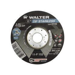 """WALTER SURFACE TECHNOLOGIES 11F152, 5"""" X 3/64 X 7/8 CUT OFF WHEEL 11F152"""