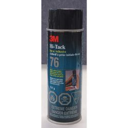 3M 76, ADHESIVE-3M AEROSOL 24 OZ - SPRAY CS-0406-6913-0 - 76