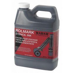 MARSH 20903, ROLMARK INK BLACK - QUART - 20903