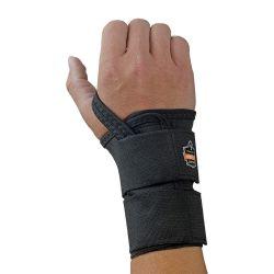 ERGODYNE 4010LH-XL-BK, WRIST SUPPORT X-LARGE - PROFLEX BLACK LEFT HAND 4010LH-XL-BK