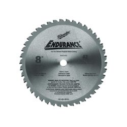 MILWAUKEE 48-40-4515, BLADE-CIRCULAR SAW 8 X 5/8 - CERMET TIP 42T METAL CUTTING 48-40-4515