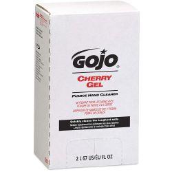 GOJO 7290-04, HAND CLEANER-PUMICE CHERRY GEL - 2000ML 7290-04