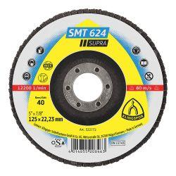 "KLINGSPOR 322783, DISC-FLAP 7"" X 7/8"" 40 GRIT - SMT 624 322783"