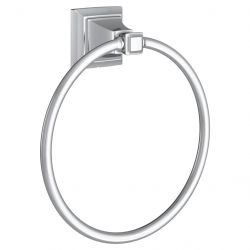 AMERICAN STANDARD 7455190.002, TOWN SQUARE S TOWEL RING - CHROME 7455190.002