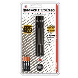 MAGLITE XL200S3016, FLASHLIGHT - MAGLITE LED - XL200 BLACK - XL200S3016