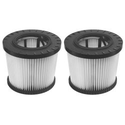 DEWALT DWV9330, HEPA FILTER-SHELL - 2 PACK DWV9330