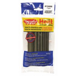 THERMAFIX 15000, HEAT SHRINK TUBING BLACK 15000