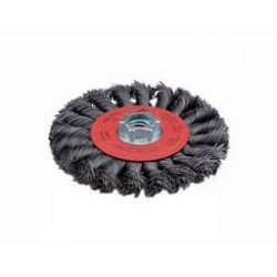 """WIRE WHEEL-STL/KNOTTED 4 1/2"""""""