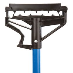 "ATLAS GRAHAM 16574, 54"" FIBREGLASS EZ-CHANGE - MOP HANDLE - BLUE - 16574"