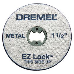BOSCH DREMEL EZ456, WHEELS-CUT-OFF EZ LOCK METAL -DREMEL (PKG OF 5) EZ456