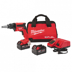 MILWAUKEE 2866-22, DRYWALL SCREW GUN KIT - M18 FUEL XC 2866-22