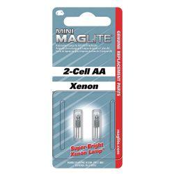 MAGLITE LM2A001, BULB-REPL MINI MAG AA - SOLD PER PAIR 1.5V LM2A001