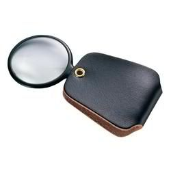 GENERAL TOOLS 532, MAGNIFIER, SIMULATED LEATHER - CASE, 2.5X 532
