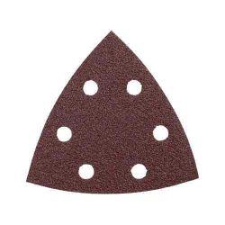 BOSCH SDTR042, SANDING SHEET-DETAIL TRIANGLE - HOOK & LOOP RED 40 GRIT SDTR042