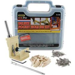 GENERAL TOOLS 850, E.Z. PROTM DELUXE POCKET HOLE - JIG KIT 850