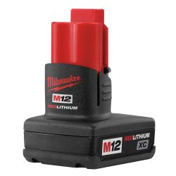 MILWAUKEE 48-11-2402, BATTERY -REDLITHIUM M12 - 3.0AH CP - 48-11-2402