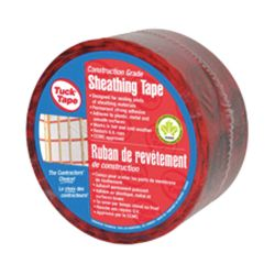 CAPITAL SAFETY GROUP CANADA TUCK TAPE 205-02, TAPE-SHEATHING VAPOR BARRIER - 60MM X 66M RED 205-02
