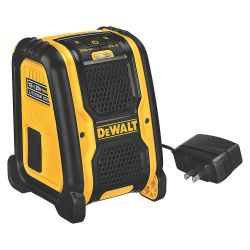 DEWALT DCR006, SPEAKER - BLUETOOTH - 20V/12V MAX JOB DCR006