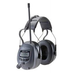 3M WTD2600, EAR MUFF-PELTOR WORKTUNES 26DB - AM/FM TUNING MP3 COMPATIBLE - WTD2600