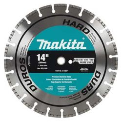 "MAKITA A94742, DIAMOND BLADE 16"" X 20MM/1"" - DRY - CONCRETE AND STONE A94742"