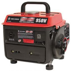 KING TOOLS KCG-951G, GENERATOR GAS/OIL PORTABLE - 950W KCG-951G