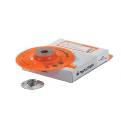 """WALTER SURFACE TECHNOLOGIES 15D054, BACK-UP PAD 5"""" - 5/8-11 THRD 15D054"""