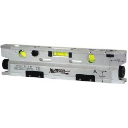 JOHNSON LEVEL & TOOL 40-6184, #40-6184 JOHNSON TORPEDO 3 - BEAM LEVEL - 40-6184