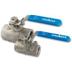 "PINACLE STAINLESS STEEL 316VTBMM15, BALL VALVE - THR'D 1-1/2"" - BALL/SS 1500 WOG 316VTBMM15"