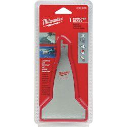 "MILWAUKEE 49-00-5456, SCRAPER BLADE 3"" FOR HACKZALL - SAWSALL 49-00-5456"