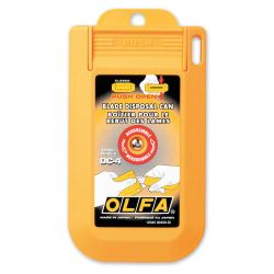 OLFA DC-4, OLFA BLADE DISPOSAL CASE - DC-4
