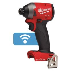 """MILWAUKEE 2857-20, IMPACT DRIVER M18 FUEL - 1/4"""" HEX W/ONE-KEY TOOL ONLY 2857-20"""