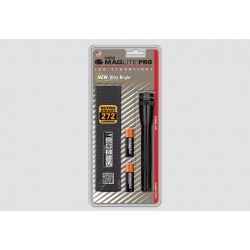 MAGLITE SP+P01H, MINI MAGLITE PRO+ -BLACK - 2 CELL AA LED FLASHLIGHT SP+P01H