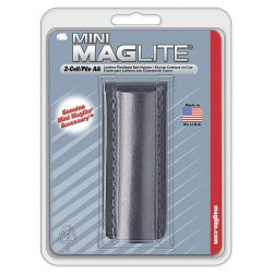 "MAGLITE AM2A026, HOLSTER-BLACK LEATHER - FOR A ""AA"" MAGLITE AM2A026"