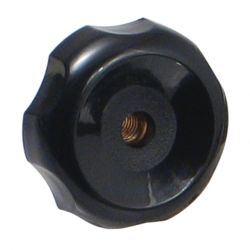 "ROK 44118, KNOB - THROUGH HOLE 3/8"" - THREAD 44118"