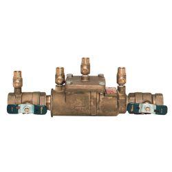 "WATTS WATER TECHNOLOGIES LF007-QT114, WATTS DOUBLE CHECK BACKFLOW - 1-1/4"" DCVA TESTABLE LF007-QT114"