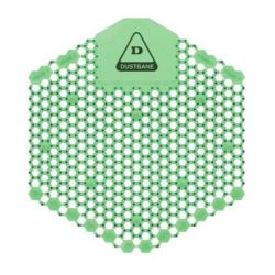 DUSTBANE 50264, URINAL SCREEN 3D SHIELD - CUCUMBER MELON - 50264