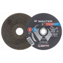 WALTER SURFACE TECHNOLOGIES 11R042, WHEEL 4-1/2 X 3/32 X 7/8 - CUT OFF WHEEL STAINLESS 11R042