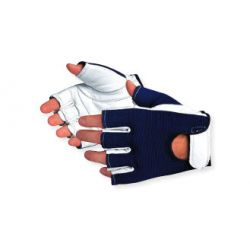 SUPERIOR GLOVE VIBGHFV/L, GLOVE-ANTI-VIBRATION - HALF FINGER LARGE - VIBGHFV/L