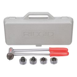 "RIDGID 34152, 3/8,1/2,3/4,1"" HEADS + CASE - TUBE EXPANDER KIT - MODEL #8 34152"
