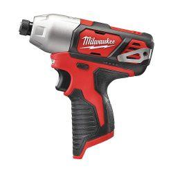 """MILWAUKEE 2462-20, IMPACT DRIVER - M12 1/4"""" HEX - BARE TOOL - 2462-20"""