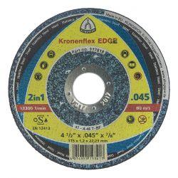 KLINGSPOR 317818, WHEEL 4-1/2 X .045 X 7/8 - CUT OFF TYPE 1 EDGE 317818