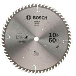"BOSCH PRO1060NFB, BLADE- SAW METAL CUTTING - 10"" X 5/8 ARBOR 60 TOOTH PRO1060NFB"