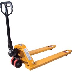"RELIANCE WORLDWIDE CORPORATION LIFT-RITE ML985, HYDRAULIC PALLET TRUCK - 27"" X 48"" 5500 LB CAP YELLOW ML985"