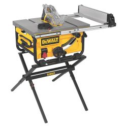 """TABLE SAW - JOB SITE 10"""" - 24-1/2"""" RIP CAP W/STAND DW7450"""