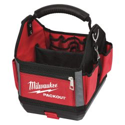 """MILWAUKEE 48-22-8310, STORAGE TOTE - 10"""" PACKOUT - 28 POCKETS 48-22-8310"""