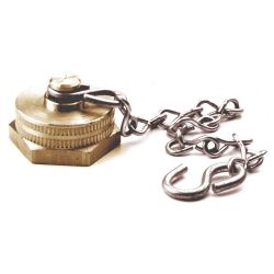 FAIRVIEW 200HKC, BRASS CAP AND CHAIN FOR - HOSE BIB 200HKC