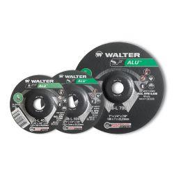 WALTER SURFACE TECHNOLOGIES 08L502, WHEEL 5 X 1/8 X 7/8 - HUB T27 A-24-ALU PIPEFITTER 08L502